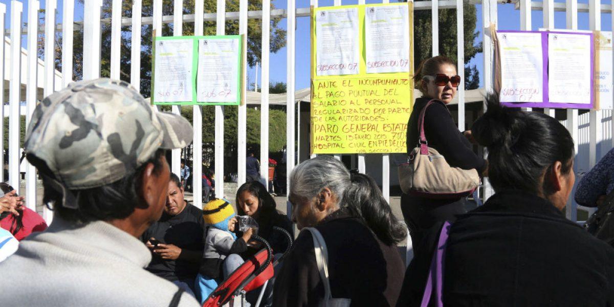 Trabajadores de Salud en Oaxaca prolongan paro hasta el 15 de diciembre