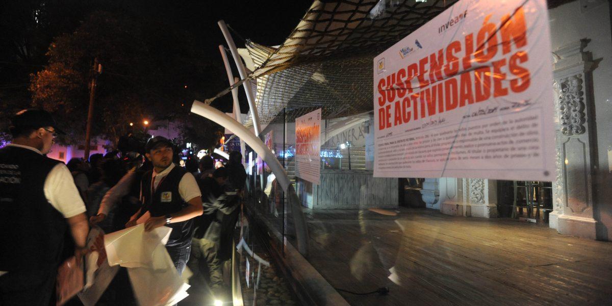 Suspenden antros en Coyoacán y Centro