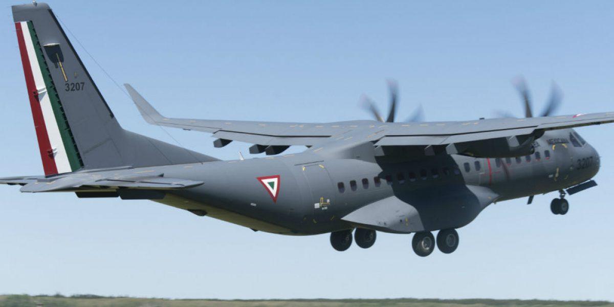Se desploma avión de la Sedena en Sonora; reportan dos muertos