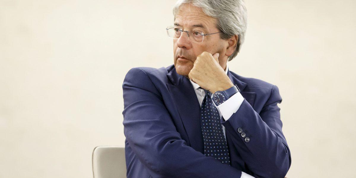 Nombran a Paolo Gentiloni como nuevo ministro italiano