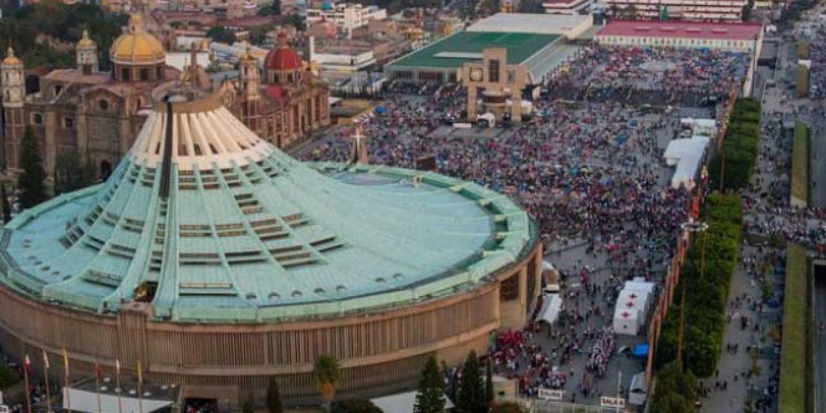 Cerca de 800 mil peregrinos arriban a la Basílica de Guadalupe