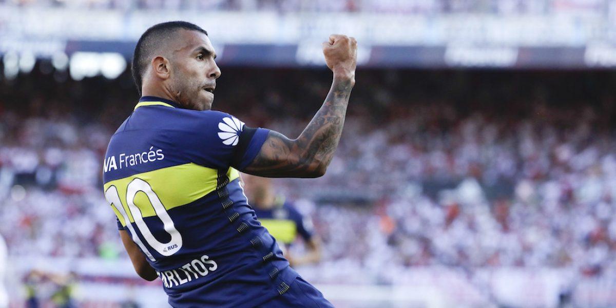 Boca Juniors se lleva el clásico sobre River Plate con gran actuación de Tévez