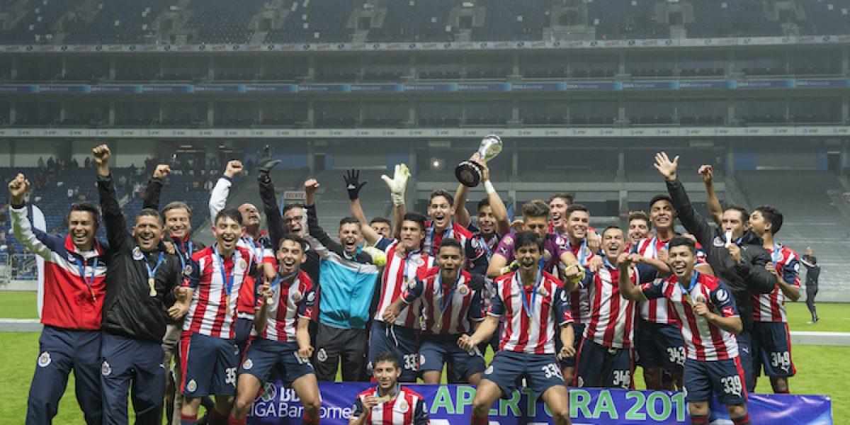 ¡Chivas campeón!… del Torneo Sub-17