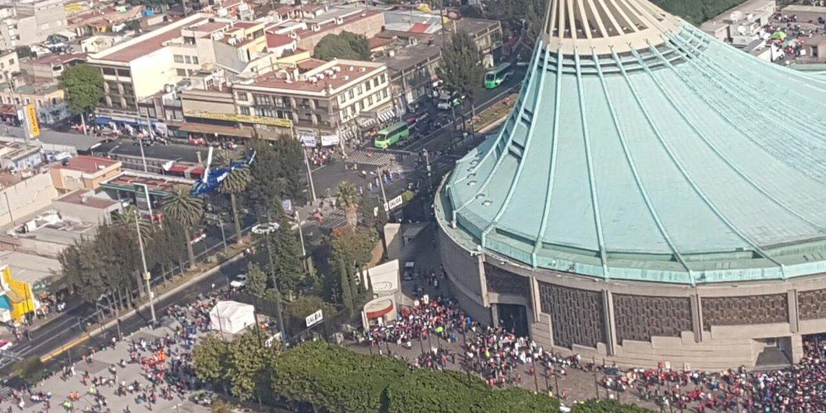 Hiram Almeida supervisa operativo de seguridad en la Basílica