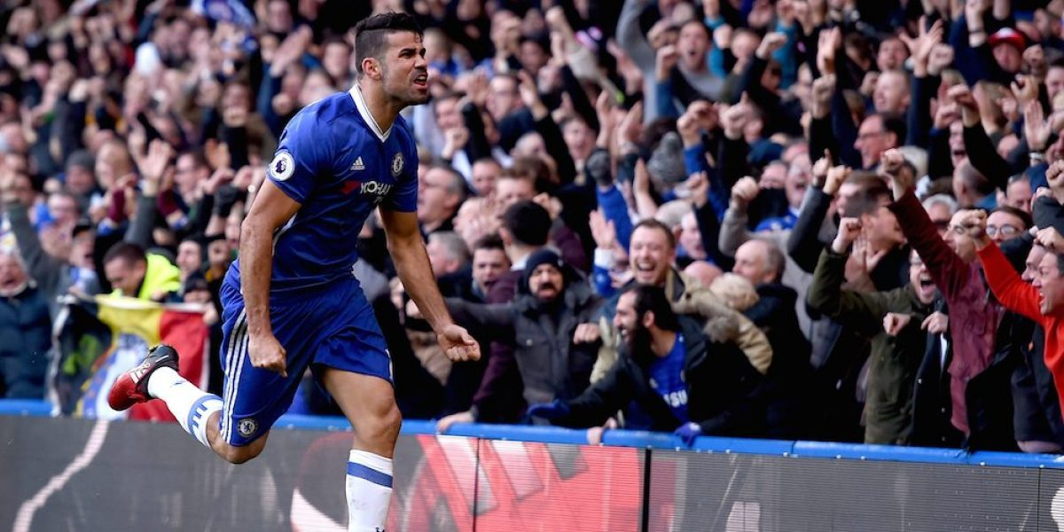 Con golazo de Diego Costa, Chelsea gana y se mantiene en el liderato de la Premier League
