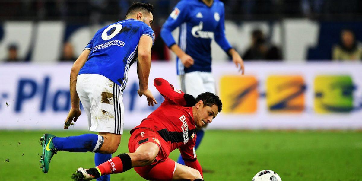 """Victoria del Bayer Leverkusen, pero """"Chicharito"""" se vuelve a ir en blanco"""
