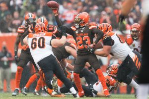 © 2016 Getty Images. Imagen Por: Bengals 23-10 Browns / Getty Images