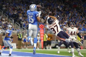 © 2016 Getty Images. Imagen Por: Bears 17-20 Lions / Getty Images