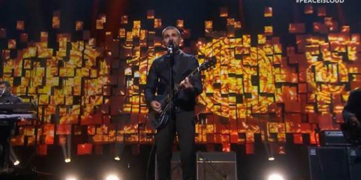 Juanes presente en la ceremonia del Nobel de la Paz