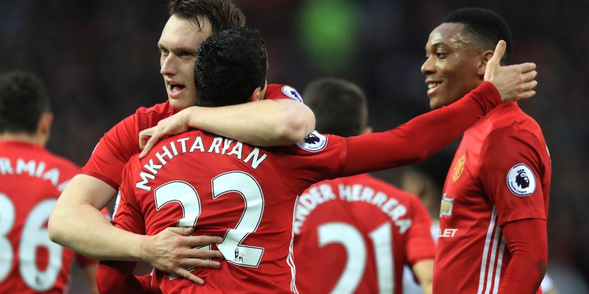 Manchester United vuelve a la senda de la victoria tras vencer al Tottenham