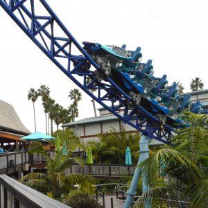 Este coaster de alta velocidad es uno de los imperdibles de SeaWorld, San Diego. | Erika Padrón