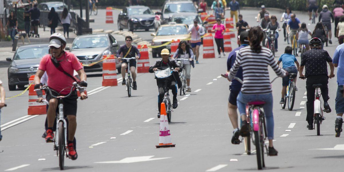 Actividades deportivas provocan el cierres  viales en la CDMX
