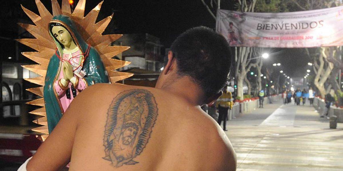 Más de tres millones de peregrinos arribaron la Basílica de Guadalupe