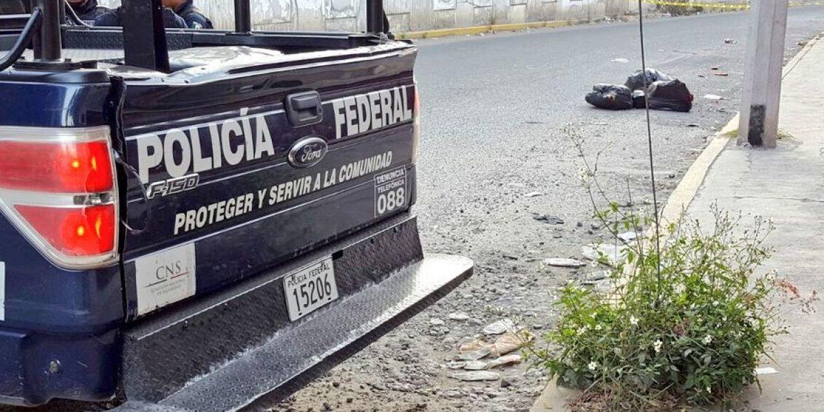 Hallan bolsas con restos humanos en Chilpancingo, Guerrero
