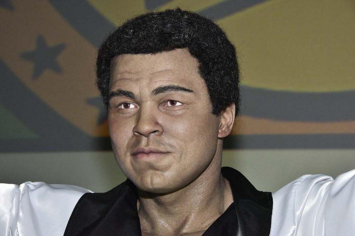 037. Imagen Por: Develan estatua en homenaje a Muhammad Ali en Convención del CMB. / Alma Montiel_CMB