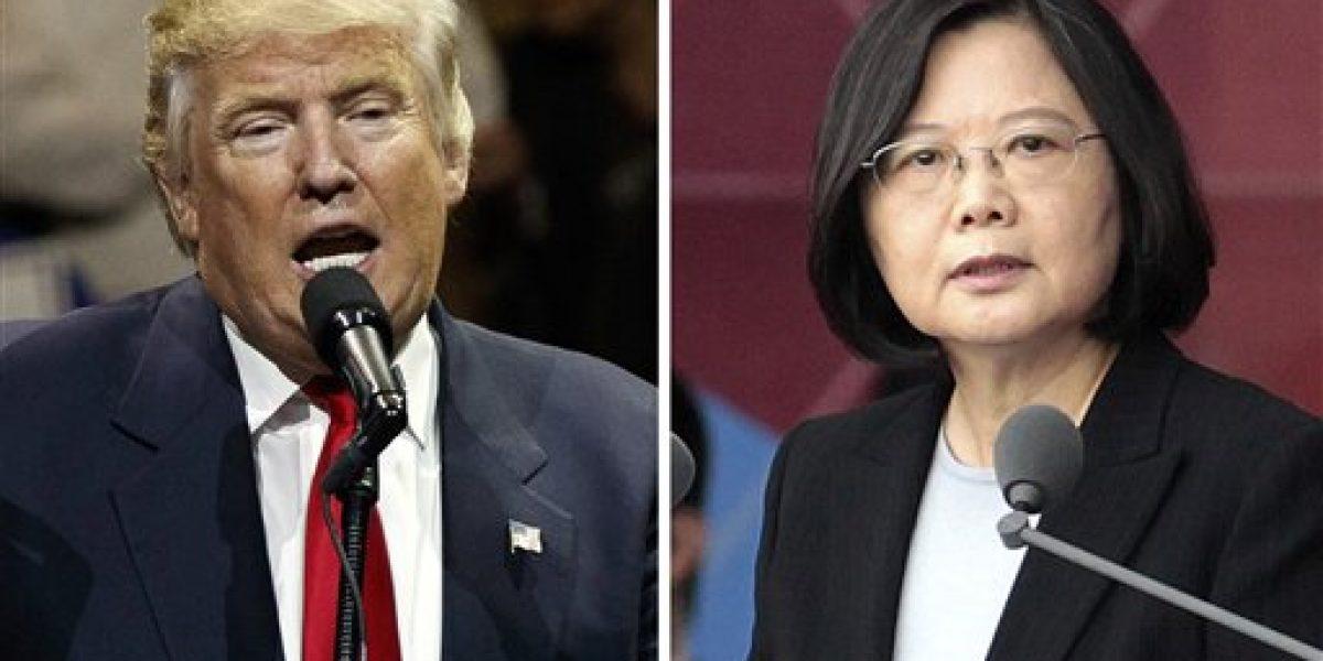Aumenta tensión entre Trump y China por comentarios sobre Taiwán