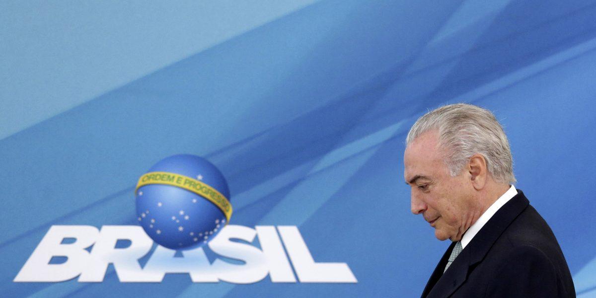 Mayoría de los brasileños reprueban al presidente Michel Temer: sondeo