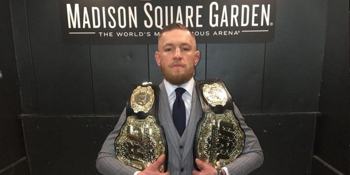 Conor McGregor, peleador de la UFC es trolleado por tremendo error