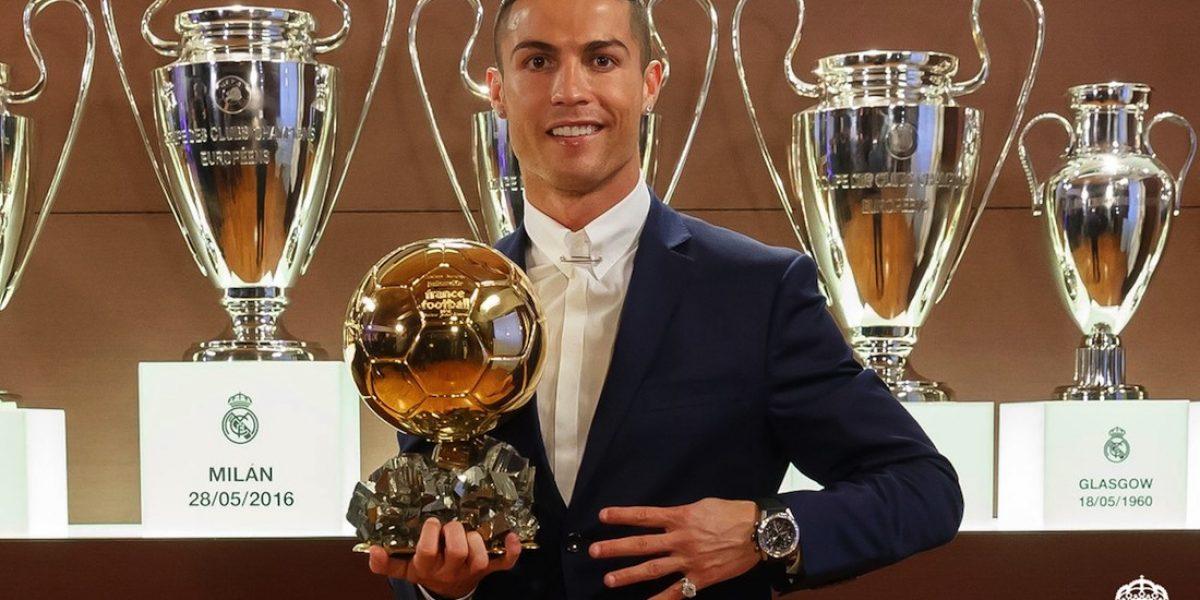 ¡OFICIAL! Cristiano Ronaldo gana el Balón de Oro 2016