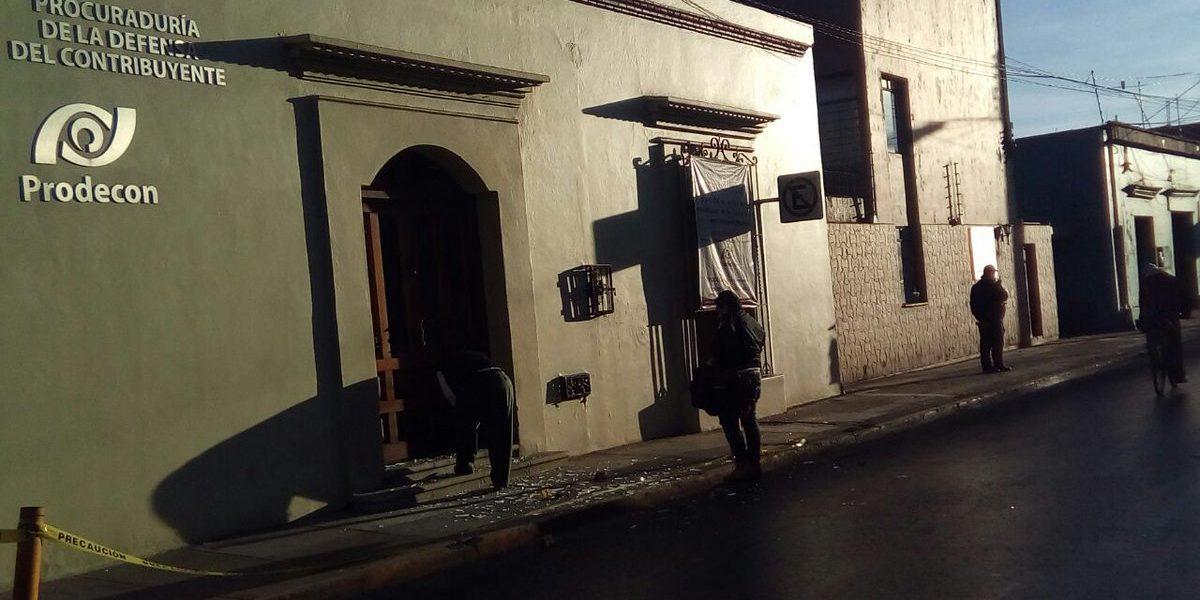 Explotan cuatro artefactos en Oaxaca