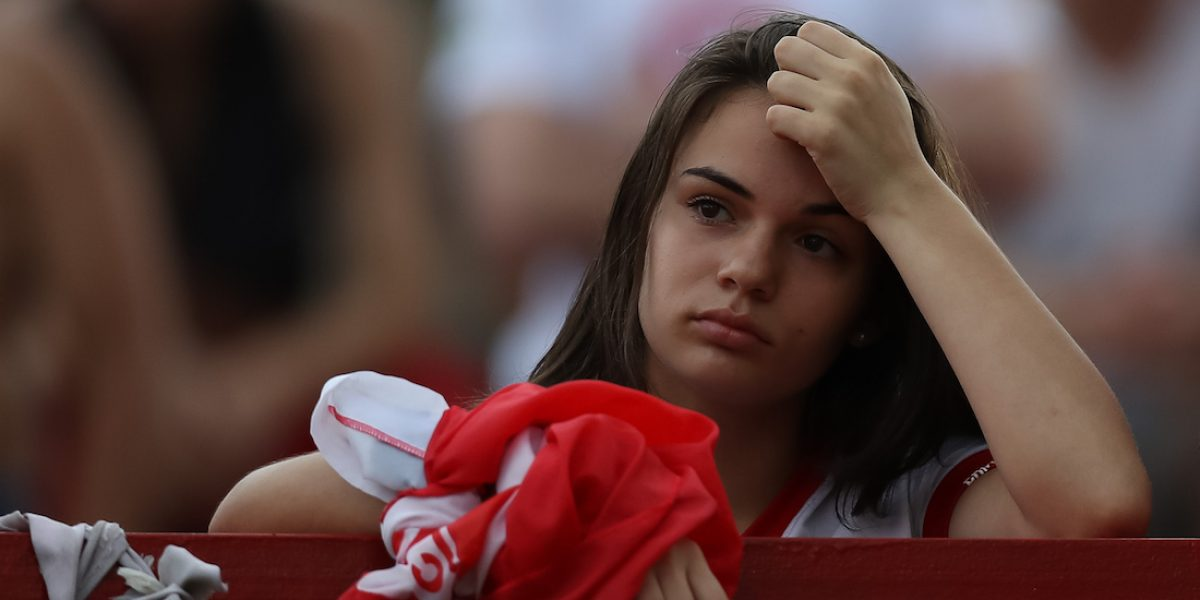 Inter de Porto Alegre desciende por primera vez en 107 años de historia