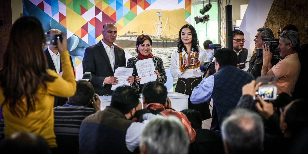 Refrenda Rosario Robles compromiso para fortalecer al sector agrario