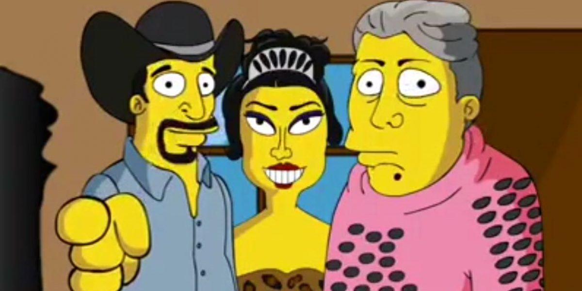 Llegan los XV años de Rubí al estilo Los Simpson