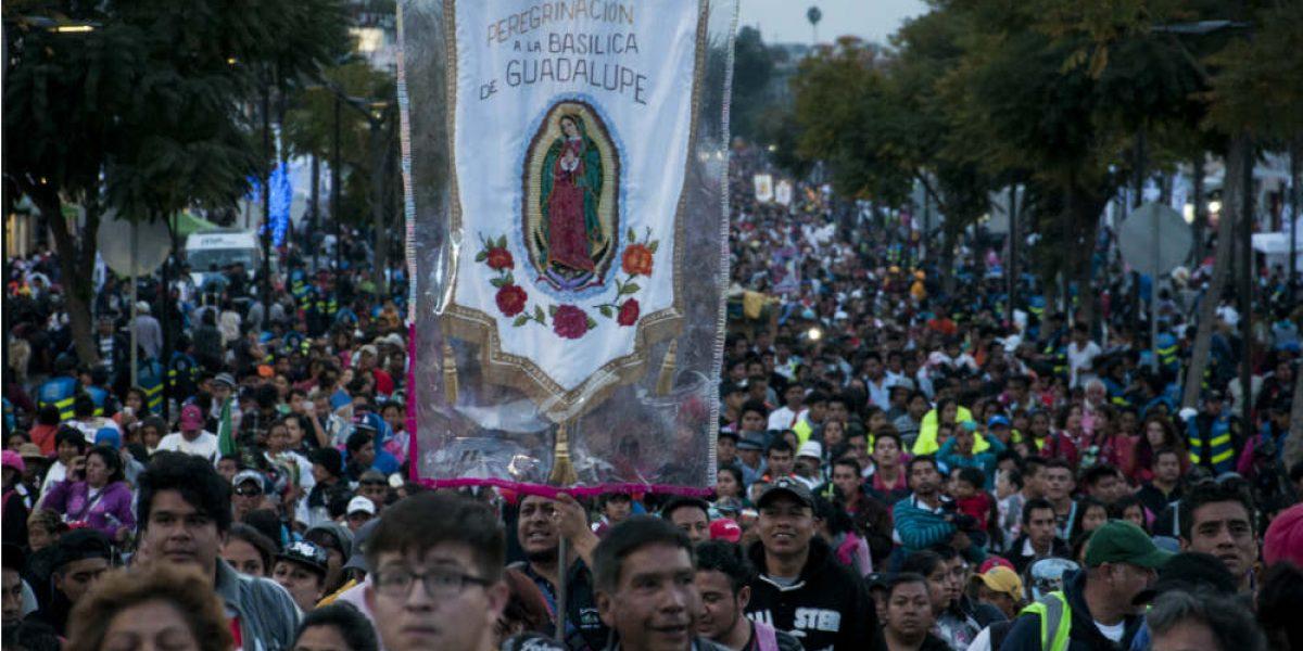 Peregrinos superan los 7.1 millones en la Basílica