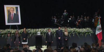 Peña Nieto encabeza homenaje luctuoso a Rafael Tovar y de Teresa. Imagen Por: YouTube