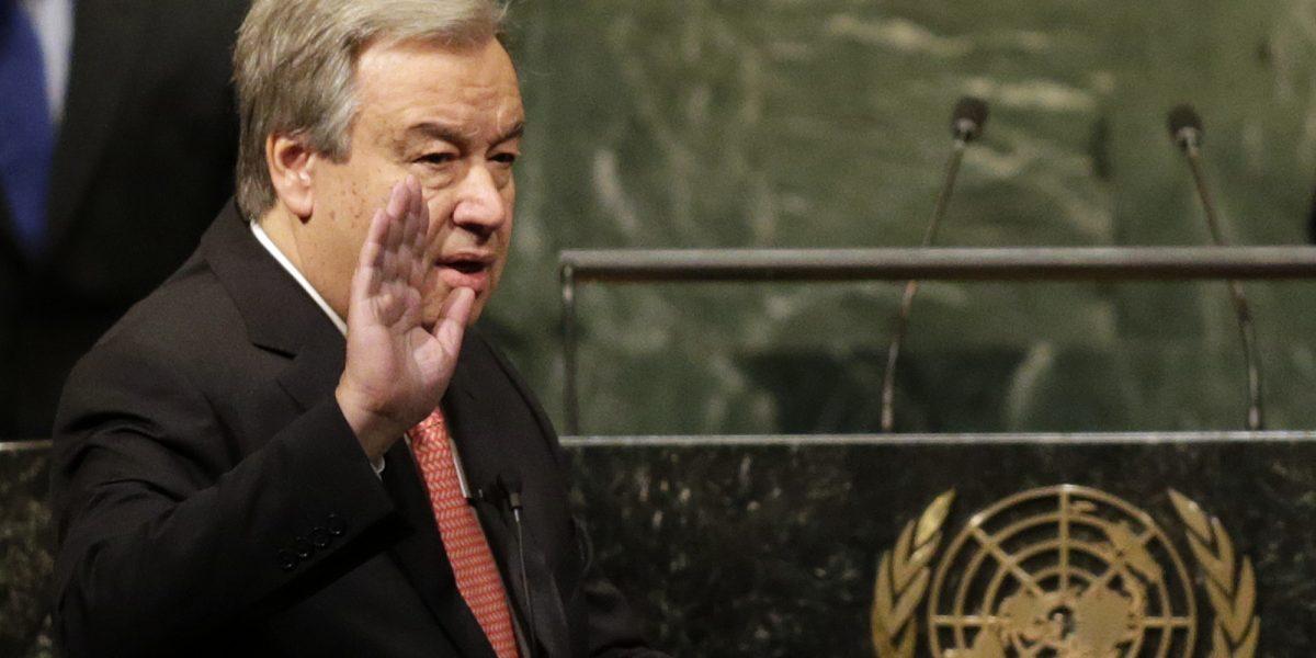 Antonio Guterres jura como secretario general de la ONU