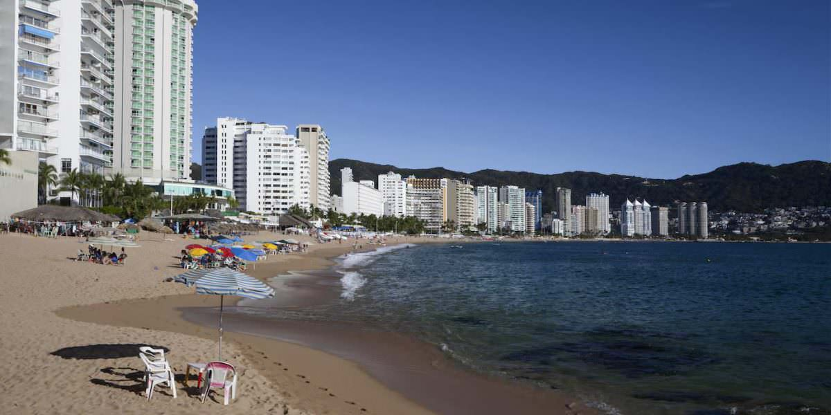 Acapulco espera 97% de ocupación hotelera para fin de año