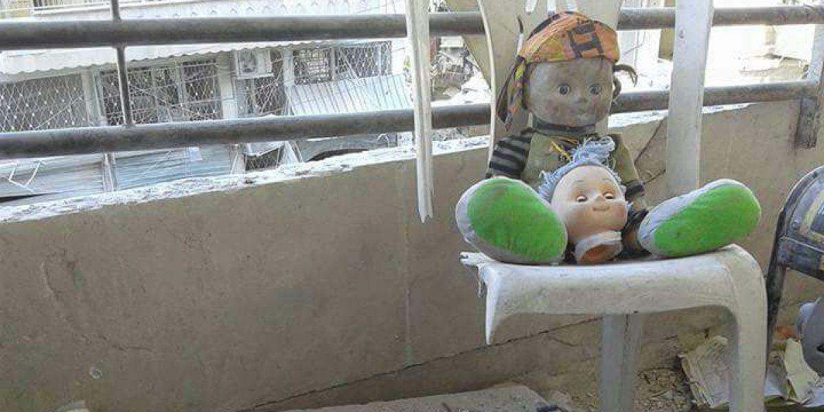 ONU: Hay niños atrapados bajo el fuego en Alepo, Siria