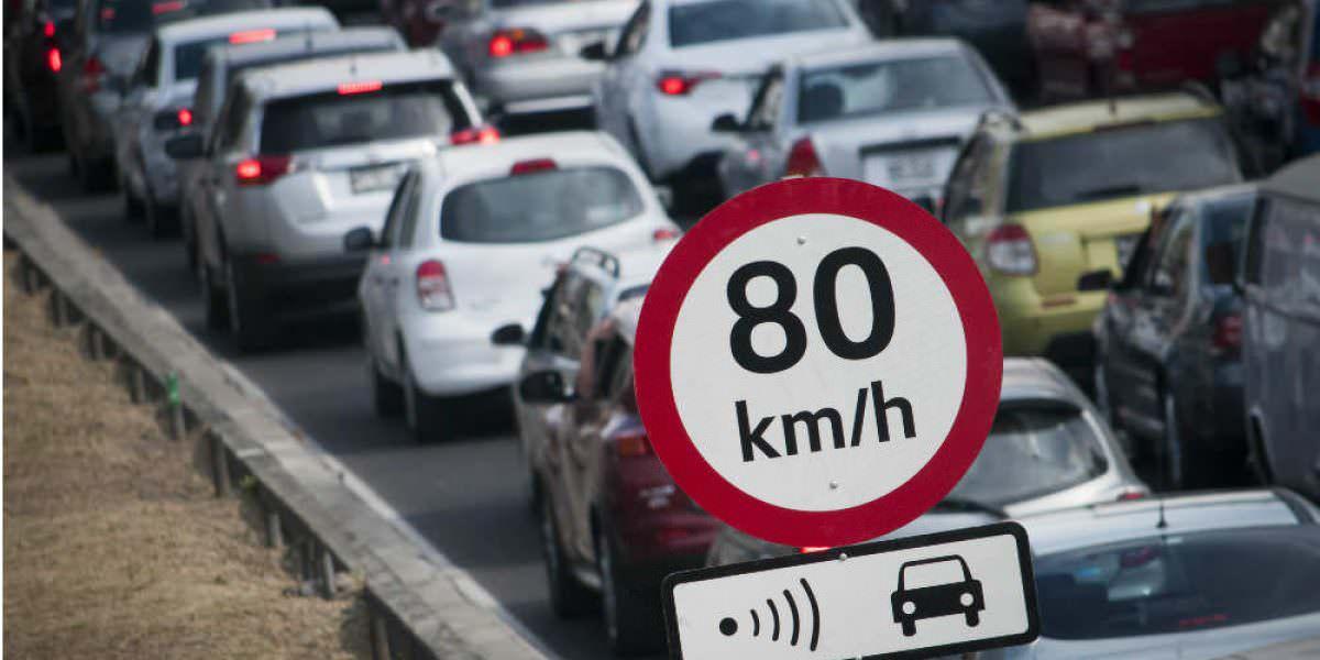 Exceso de velocidad, lo más multado del nuevo Reglamento de Tránsito
