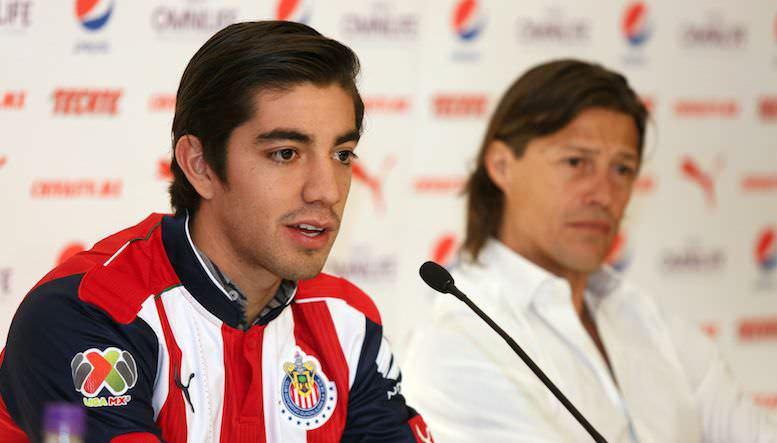 El volante afirmó que cumplió uno de sus sueños al llegar a Chivas|MEXSPORT