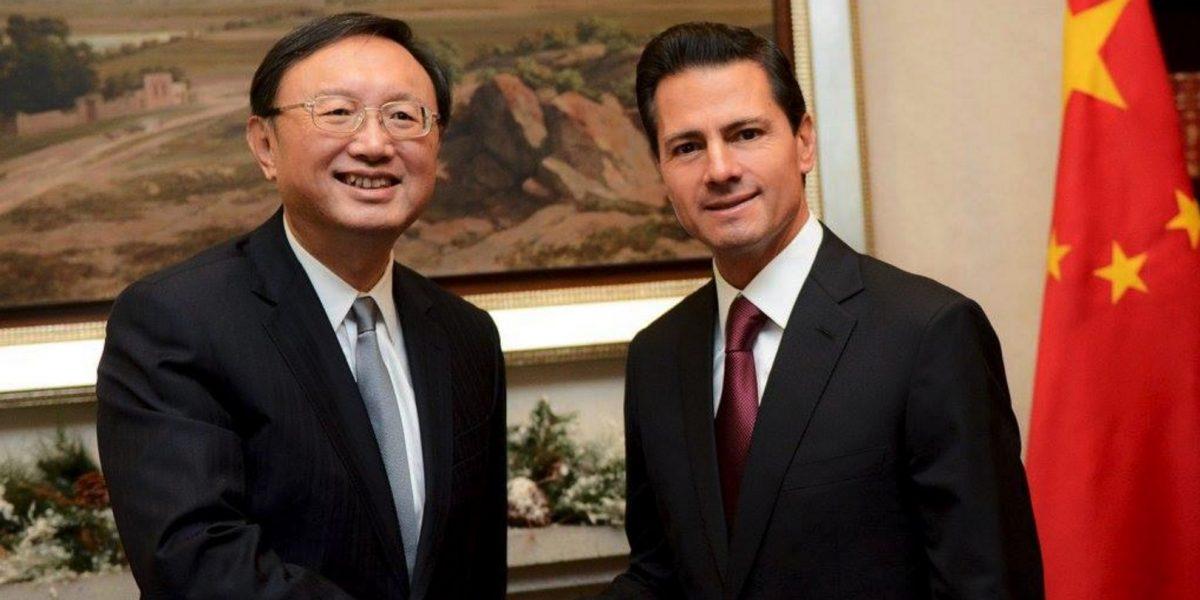 Peña Nieto se reúne en privado con consejero de China