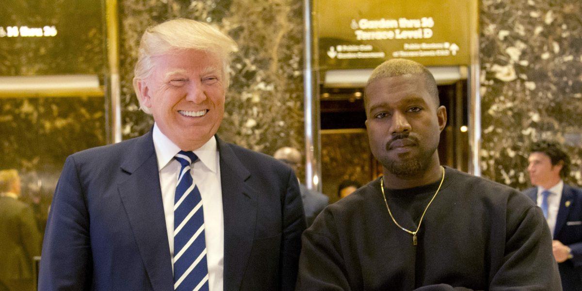 Kanye West visitó a Donald Trump en la Torre Trump