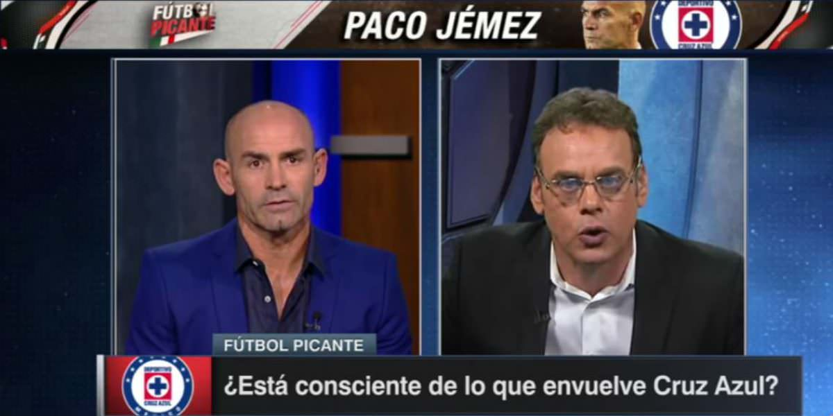 VIDEO: Faitelson estalla contra Jémez por polémicas declaraciones de Cruz Azul