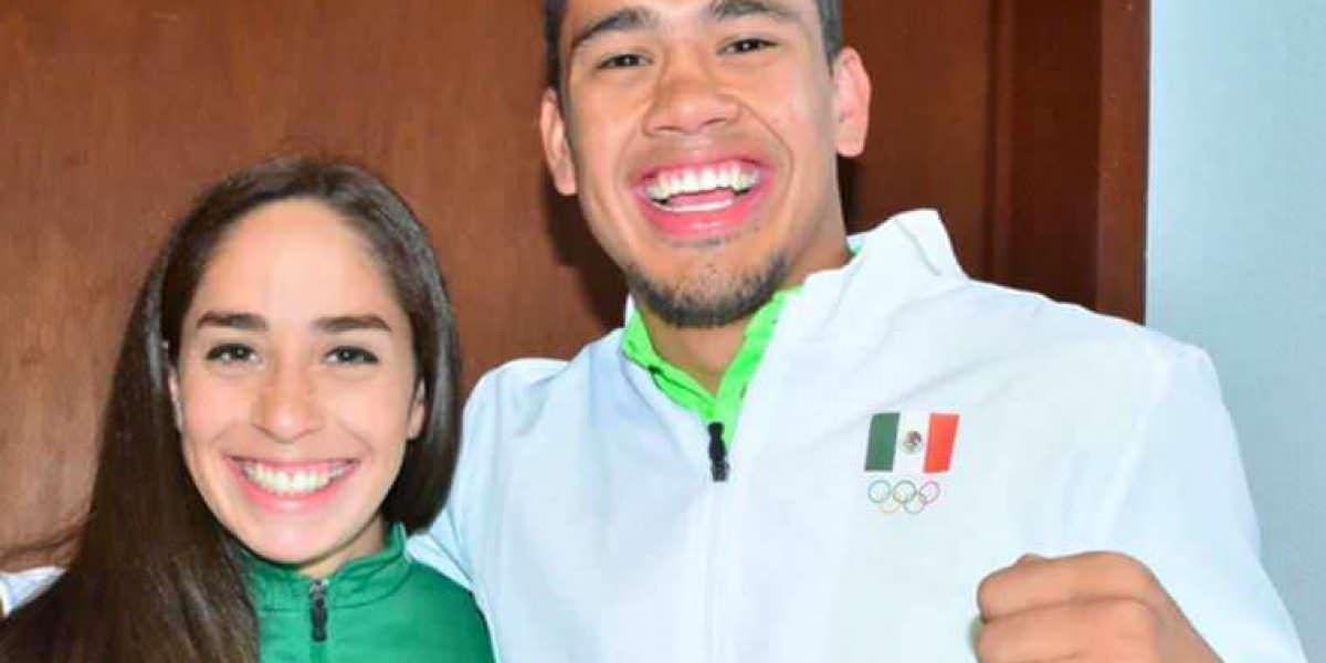 Pareja de deportistas mexicanos dan a conocer su compromiso nupcial