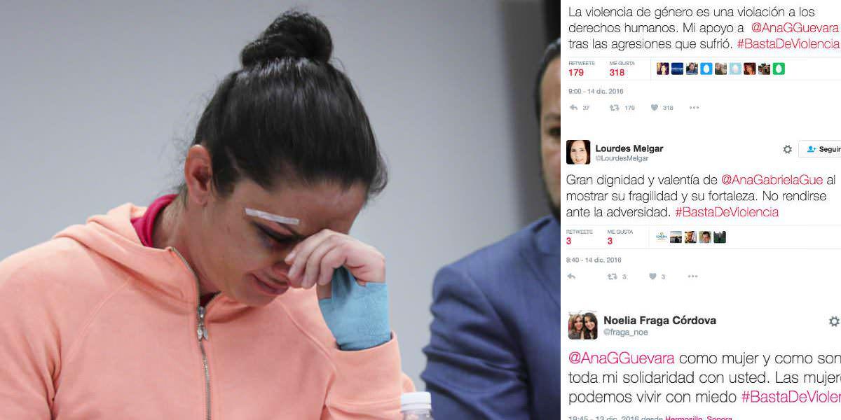 #BastaDeViolencia, mujeres responden a burlas por agresión contra Guevara