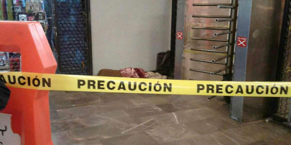 Muere hombre en metro Observatorio