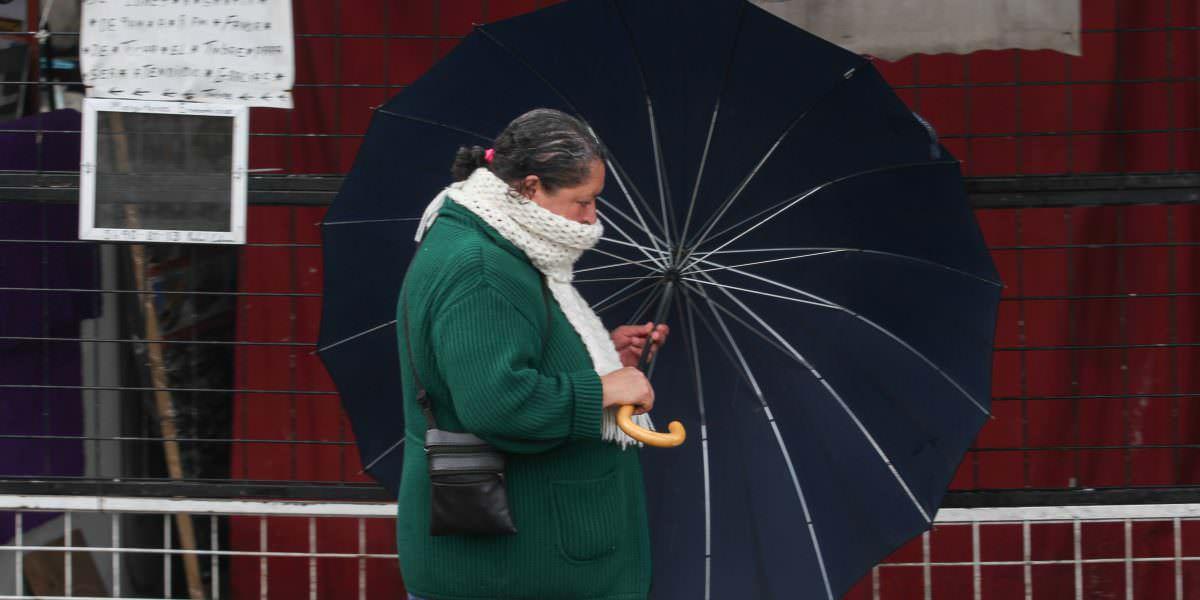 Frío y lluvias continuarán en gran parte del país