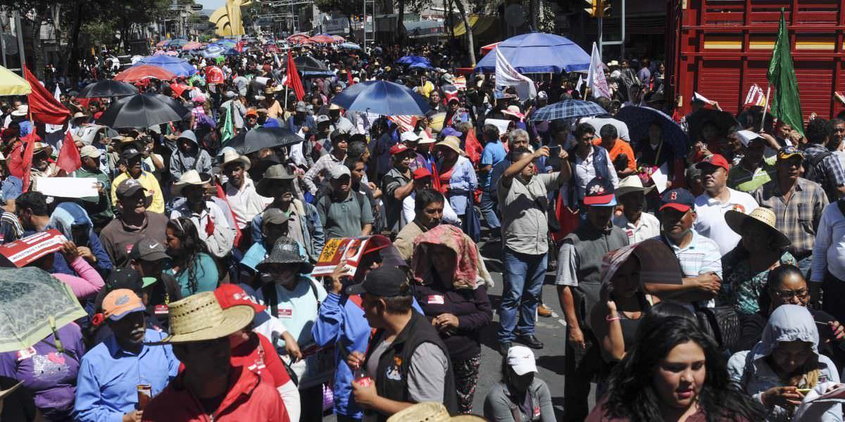 Marchas complicarán vialidades en la CDMX