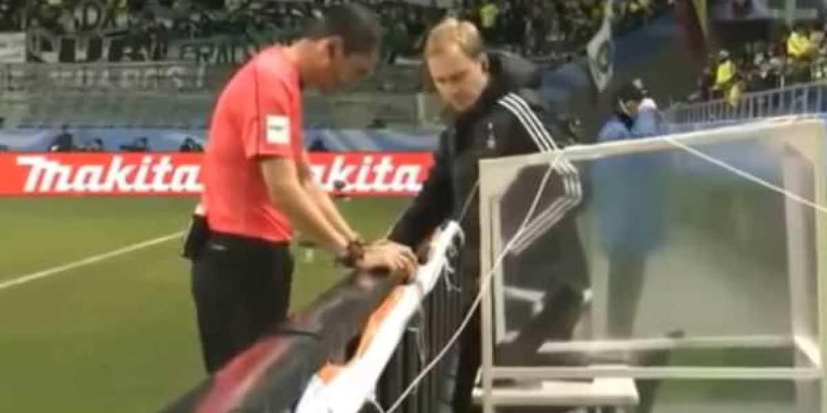 VIDEO: Así fue el primer penalti cobrado gracias a la repetición en video