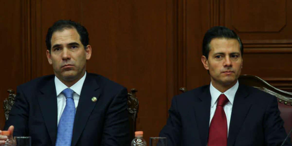 Peña Nieto recibe informe anual de la SCJN