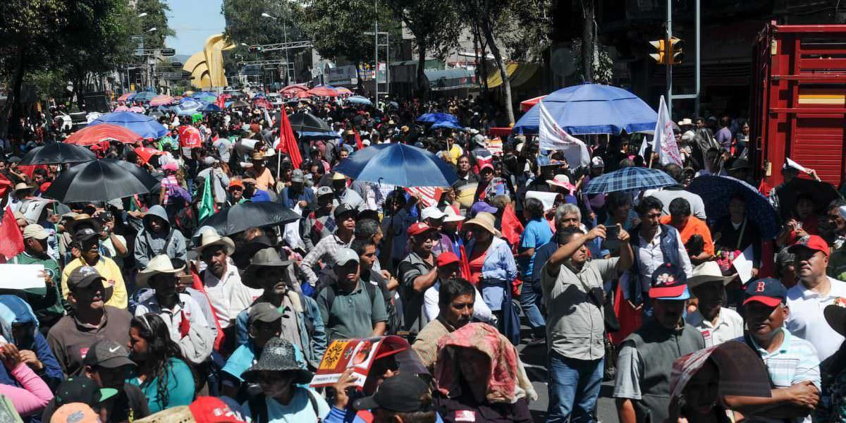 Este miércoles habrá varias marchas en la CDMX