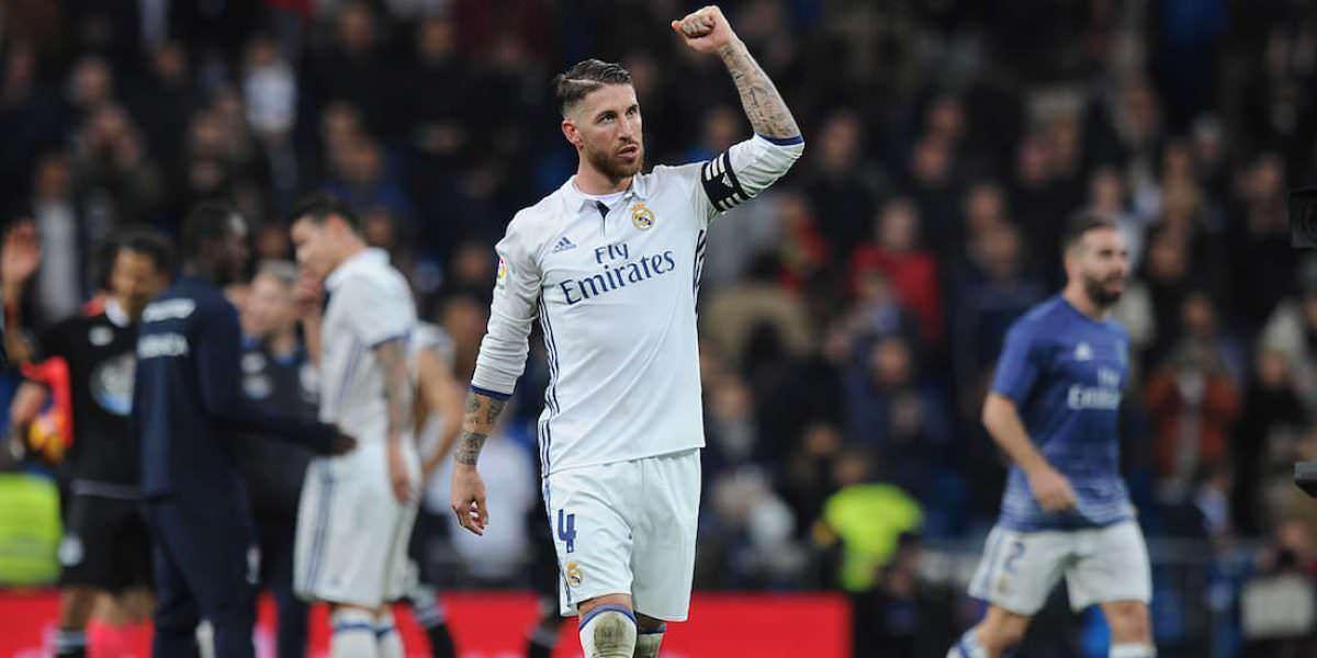 En España comparan a jugador del América con Sergio Ramos