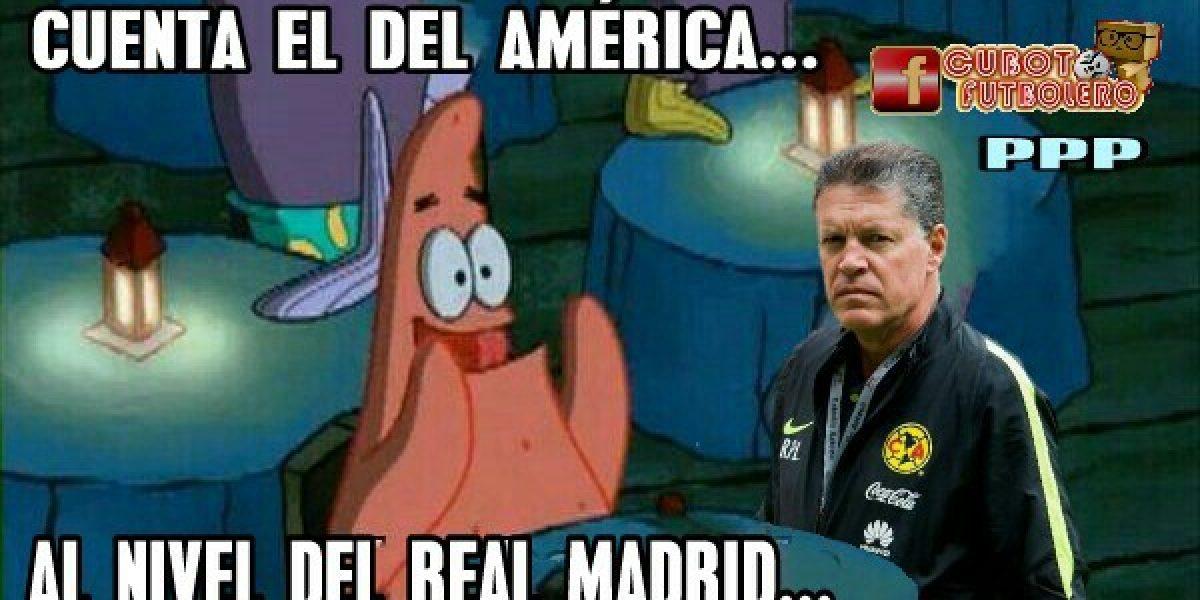 ¡Sin piedad! Los memes del América tras la derrota ante el Real Madrid