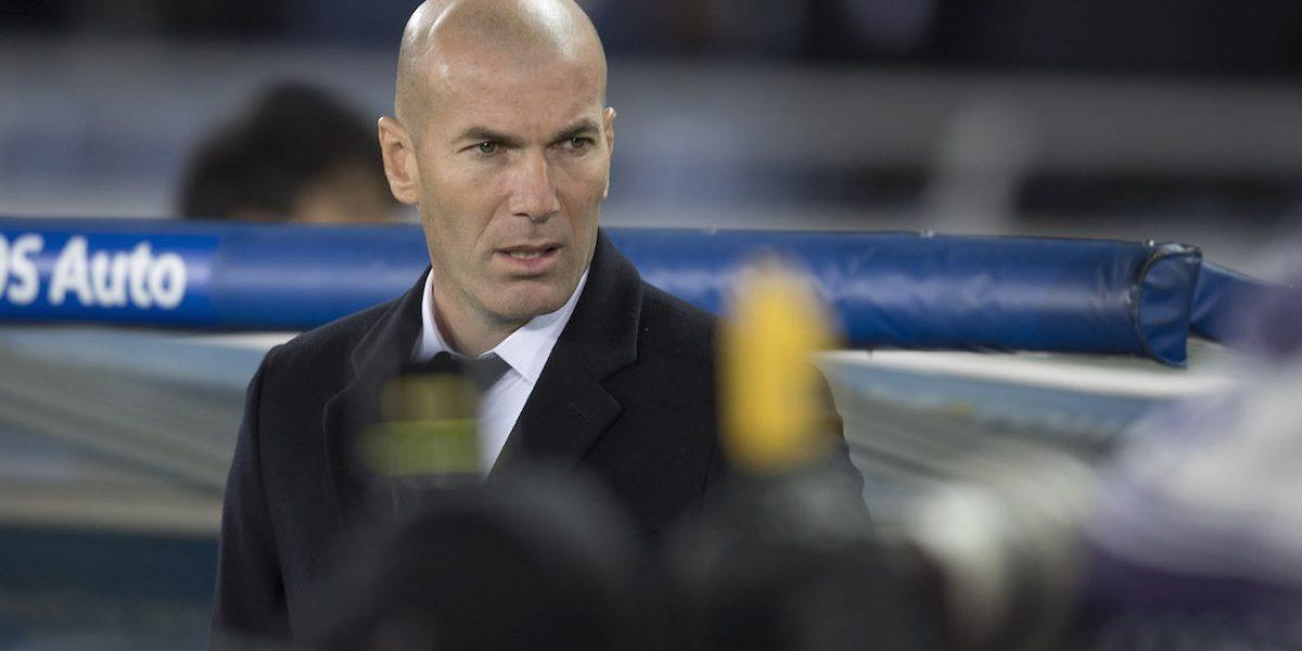 Zinedine Zidane reconoce que América le complicó el partido al Real Madrid