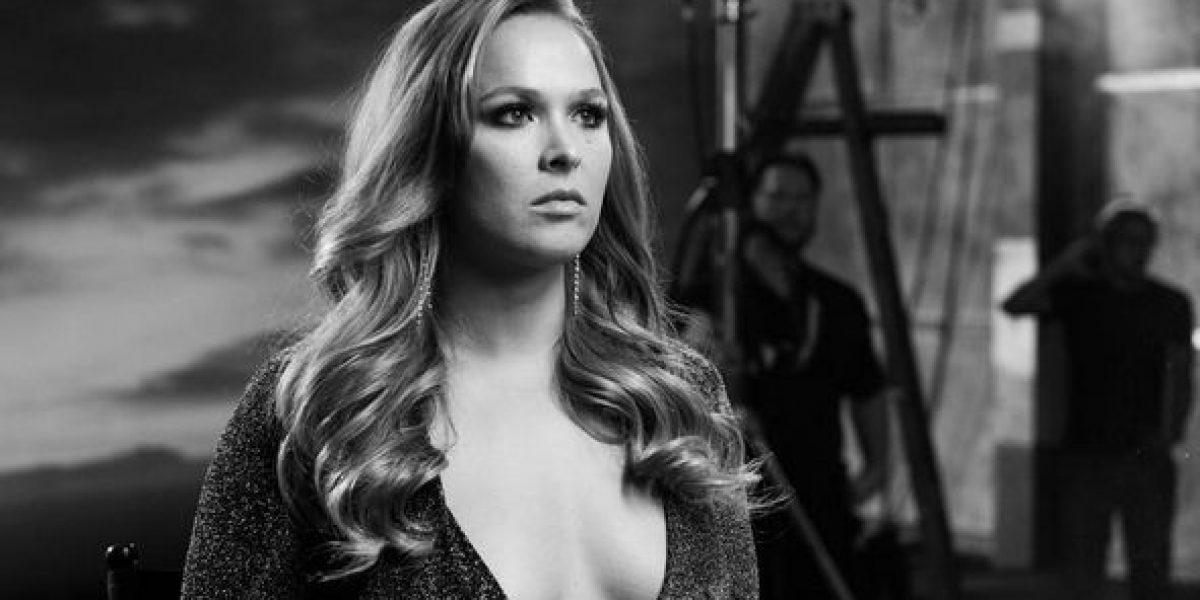 Revelan candente secreto de Ronda Rusey
