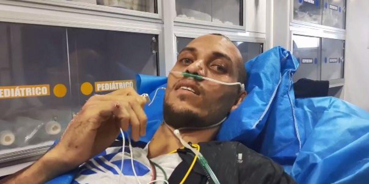 VIDEO: Sobreviviente del Chapecoense vuelve a Brasil y agradece ayuda en Colombia